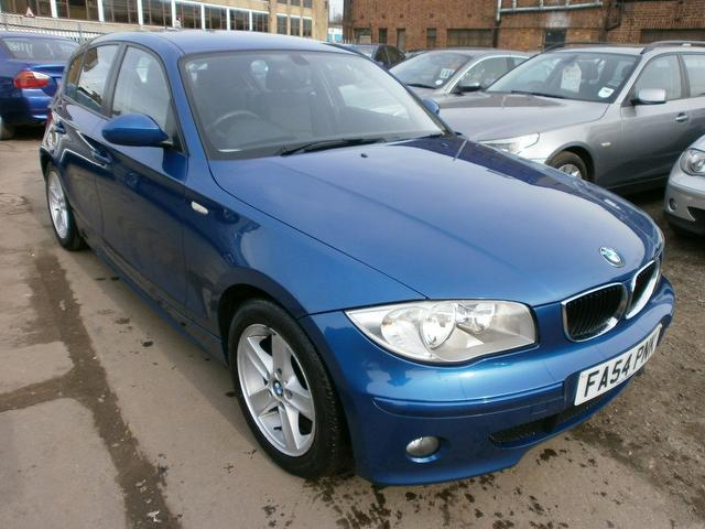 used bmw 1 series 2005 manual petrol 116i sport 5 door blue for sale uk autopazar. Black Bedroom Furniture Sets. Home Design Ideas
