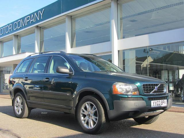 Used Volvo Xc90 2003 Green Paint Diesel 2.4 D5 Se 5dr 4x4 For Sale In Sevenoaks Uk - Autopazar