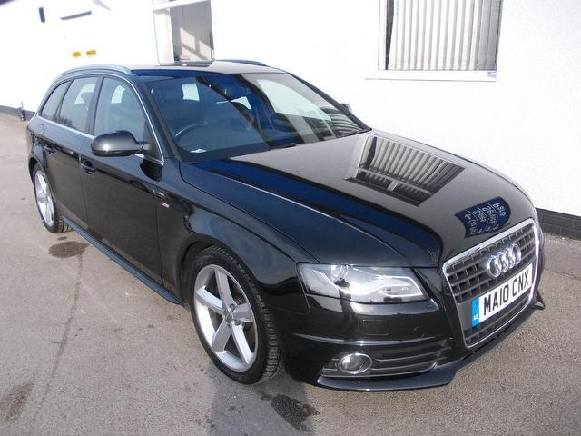Used Audi A4 2010 Black Estate Diesel Manual for Sale