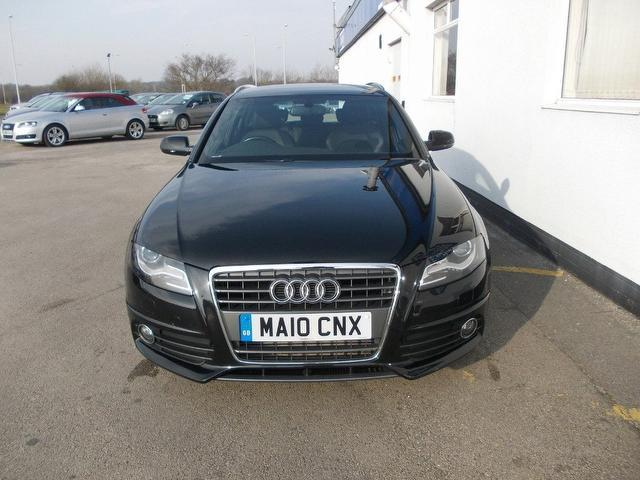 Used Audi A4 2.0 Tdi 143 S Estate Black 2010 Diesel for Sale in UK
