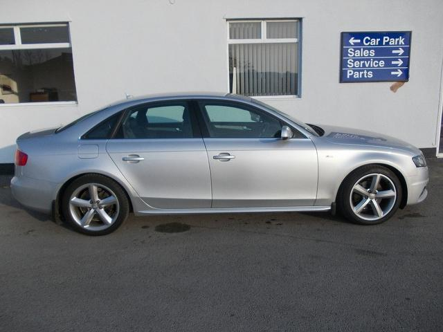 Used Audi A4 1.8t Fsi Executive S Saloon Silver 2010 Petrol for Sale in UK