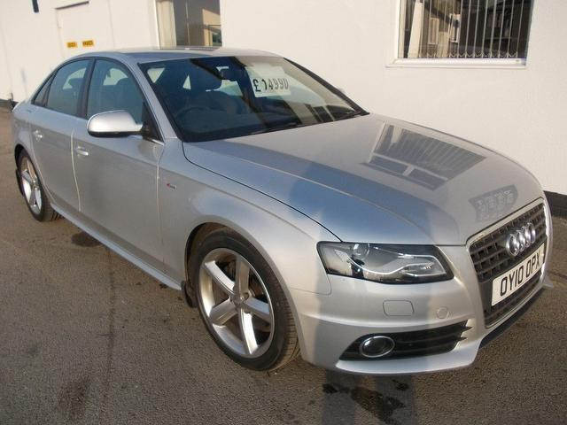 Used Audi A4 2010 Silver Saloon Petrol Manual for Sale