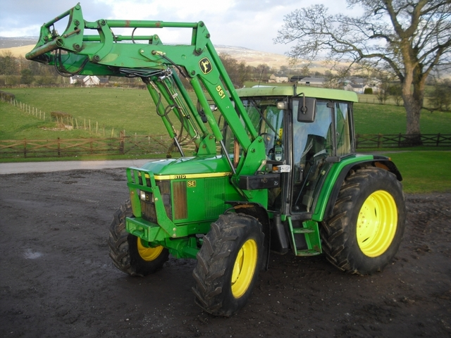Used 2002 John Deere 6110 Se For Sale In Carlisle Uk Autopazar
