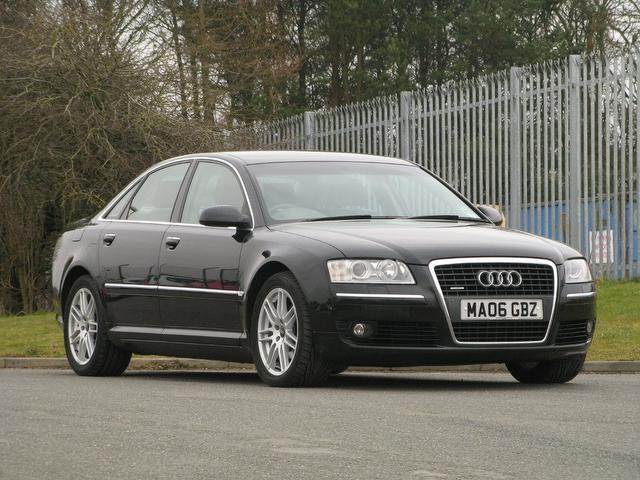 Used Audi A8 2006 Black Saloon Diesel Automatic for Sale