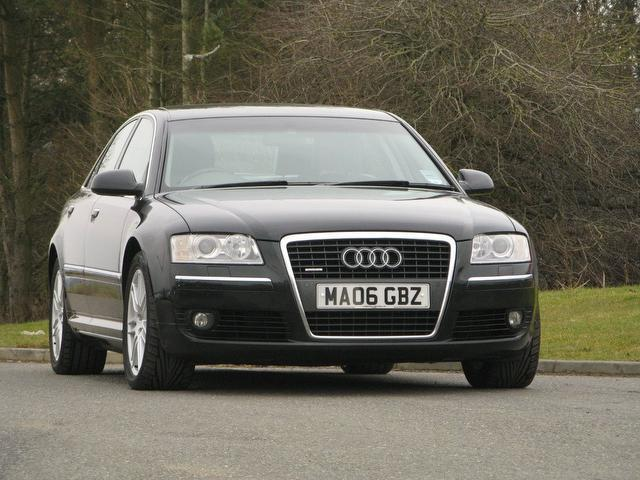 Used Audi A8 3.0 Tdi Quattro Se Saloon Black 2006 Diesel for Sale in UK