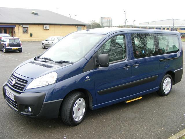 used fiat scudo 2009 blue paint diesel panorama 2 0 multijet 120 estate for sale in wembley uk. Black Bedroom Furniture Sets. Home Design Ideas