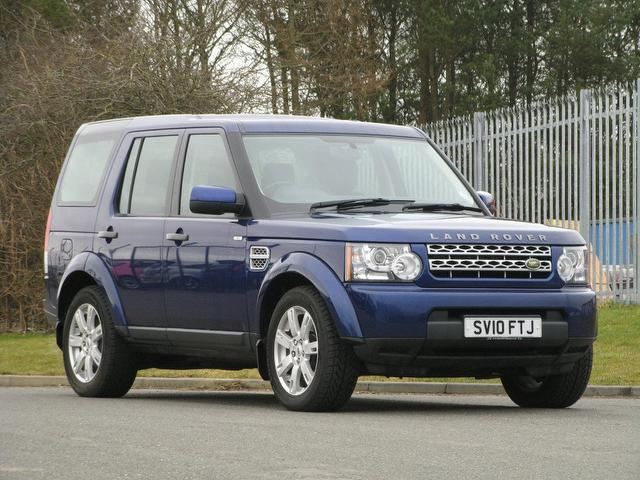 Used Blue Land Rover Discovery 2010 Diesel 3 0 Tdv6 Gs 4x4