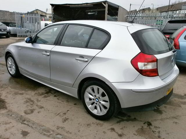 used bmw 1 series 2005 diesel 118d se 5dr hatchback silver with traction control for sale. Black Bedroom Furniture Sets. Home Design Ideas