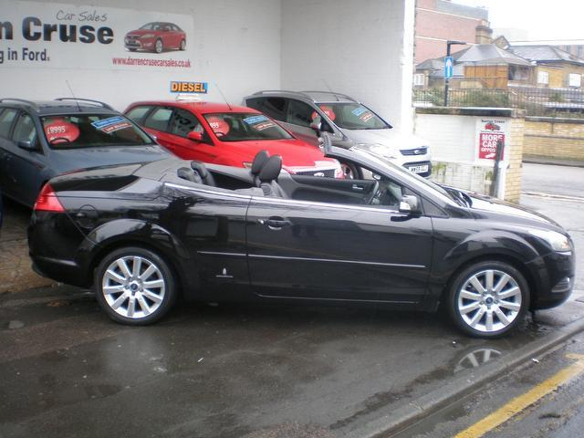 used 2008 ford focus convertible black edition 2.0 tdci cc-3 2dr