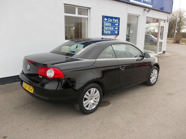 Used Cars For Sale Wirral >> Used 2008 Volkswagen Eos Convertible 1.6 Fsi 2dr Petrol For Sale In Wirral Uk - Autopazar