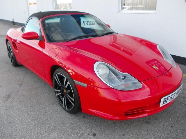 Used Porsche Boxster 2002 Red Convertible Petrol Automatic for Sale