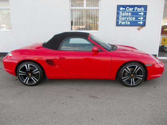 Used Porsche Boxster 2.7 [228] 2 Door Tiptronic Convertible Red 2002 Petrol for Sale in UK