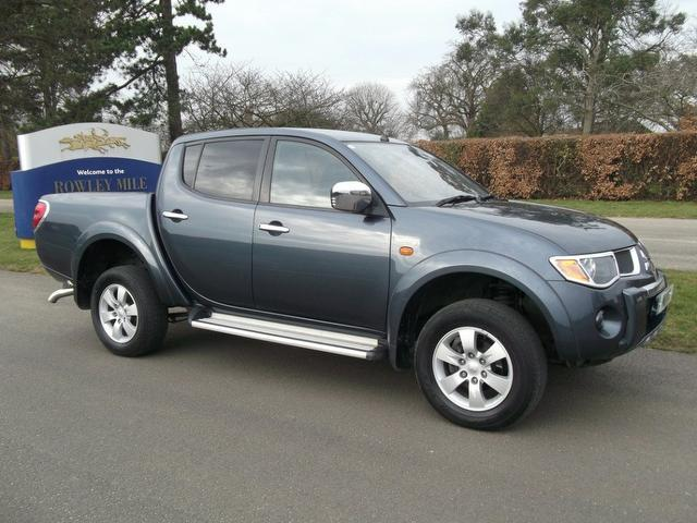 Used Mitsubishi L200 2007 Manual Diesel Double Cab Di-d Animal Grey For Sale Uk - Autopazar
