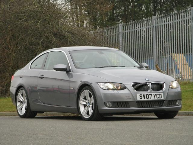used bmw 3 series 2007 petrol 335i se 2dr coupe grey edition for sale in turrif uk autopazar. Black Bedroom Furniture Sets. Home Design Ideas