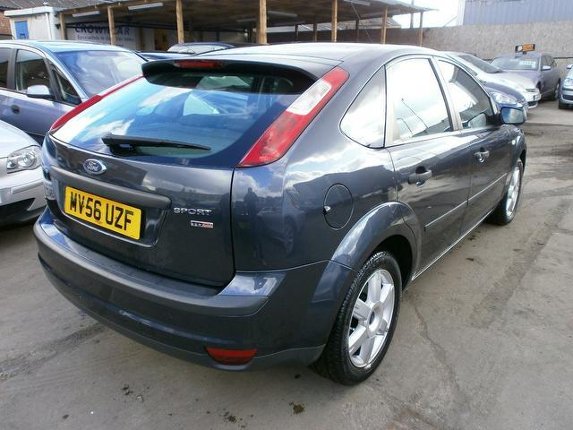 used ford focus 2006 manual diesel 1 8 tdci sport 5 door grey for sale uk autopazar. Black Bedroom Furniture Sets. Home Design Ideas