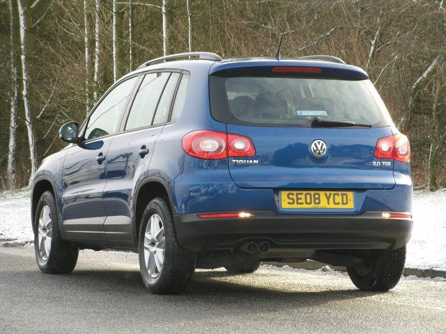 used 2008 volkswagen tiguan 4x4 2 0 tdi s 5dr diesel for sale in turrif uk autopazar. Black Bedroom Furniture Sets. Home Design Ideas