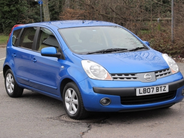 used blue nissan note 2007 petrol in great condition for sale autopazar. Black Bedroom Furniture Sets. Home Design Ideas