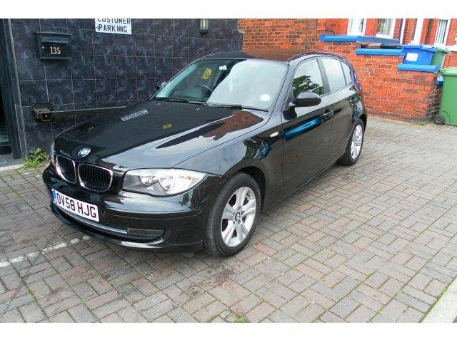 used bmw 1 series 2008 diesel 118d se 5dr hatchback manual for sale in stockport uk autopazar. Black Bedroom Furniture Sets. Home Design Ideas