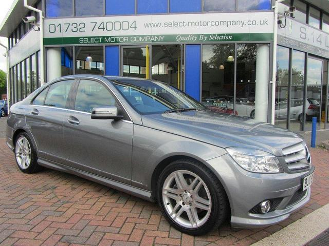 Used mercedes benz 2009 diesel class c200 cdi sport saloon for Used mercedes benz diesel for sale