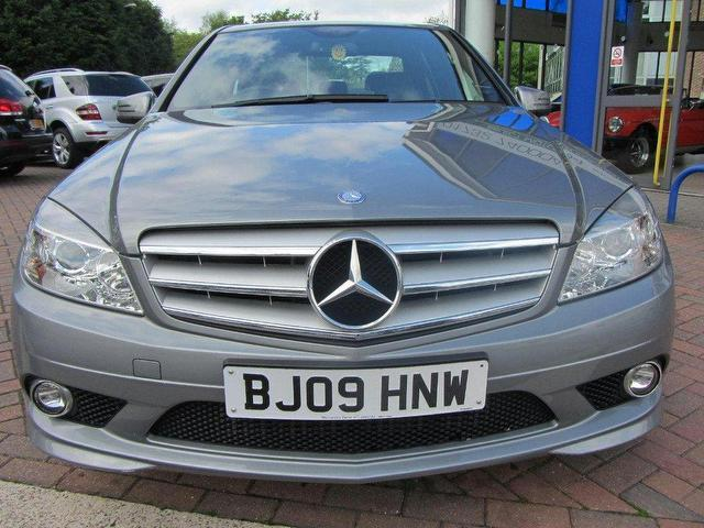 used mercedes benz 2009 diesel class c200 cdi sport saloon automatic for sale in sevenoaks uk. Black Bedroom Furniture Sets. Home Design Ideas