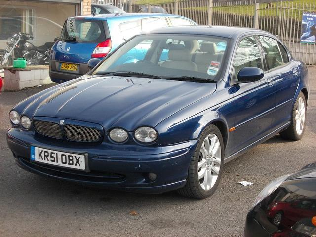 used jaguar x type 2001 model 3 0 v6 sport 4dr petrol. Black Bedroom Furniture Sets. Home Design Ideas