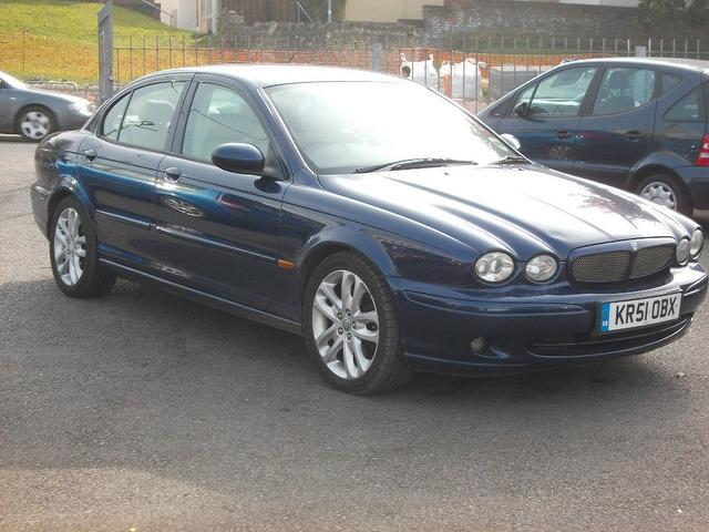 used jaguar x type 2001 model 3 0 v6 sport 4dr petrol saloon blue for sale in keynsham uk. Black Bedroom Furniture Sets. Home Design Ideas