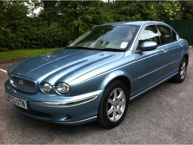 used jaguar x type 2003 model 2 0 v6 4dr petrol saloon blue for sale in stoke on trent uk. Black Bedroom Furniture Sets. Home Design Ideas