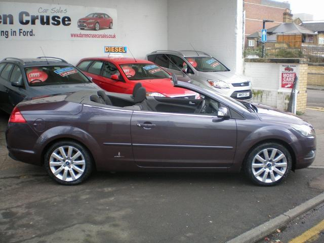Used 2008 Ford Focus Convertible 2.0 Cc-2 2dr Petrol For ...