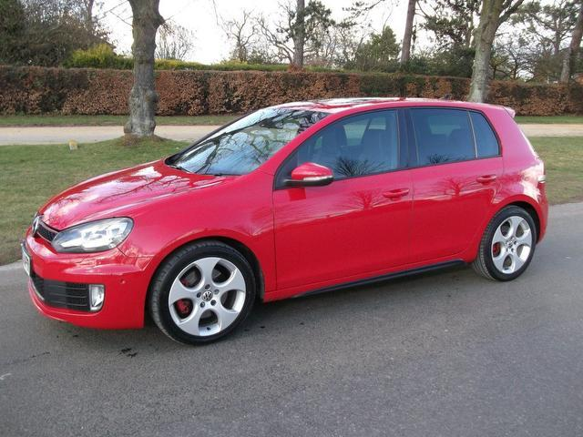 Golf 2 0 tsi gti 5 door hatchback red 2010 petrol for sale in uk jpg