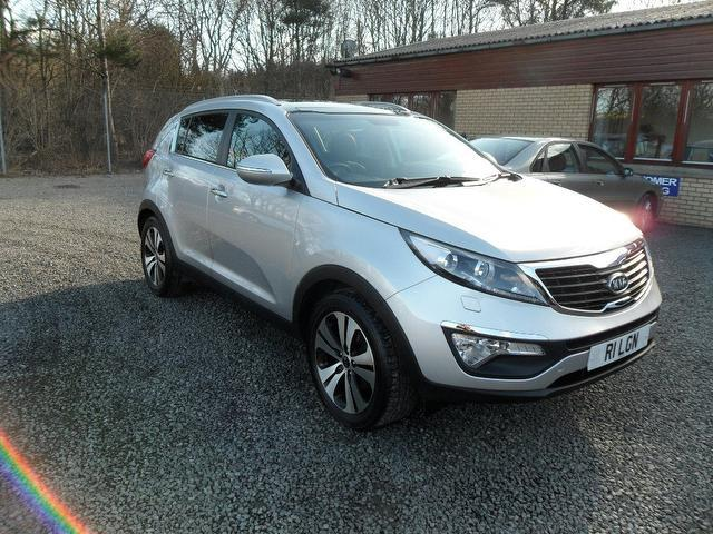 used kia sportage 2011 diesel 1 7 crdi 3 5dr 4x4 silver edition for sale in inveralmond place uk. Black Bedroom Furniture Sets. Home Design Ideas