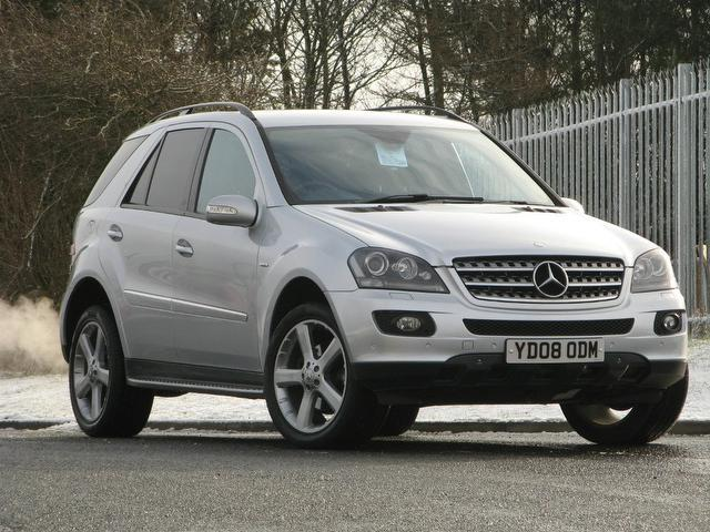 Used mercedes benz car 2008 silver diesel class ml280 cdi for Used cars for sale mercedes benz