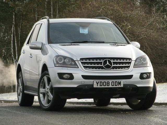 Used mercedes benz car 2008 silver diesel class ml280 cdi for Mercedes benz used trucks for sale