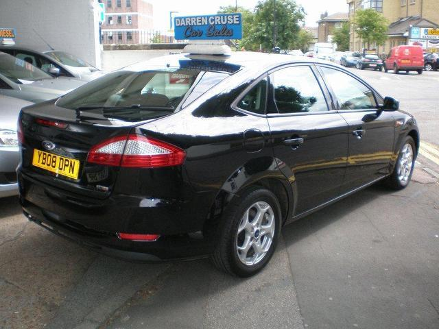 used ford mondeo 2008 diesel 2 0 tdci zetec 5dr hatchback black manual for sale in gravesend uk. Black Bedroom Furniture Sets. Home Design Ideas