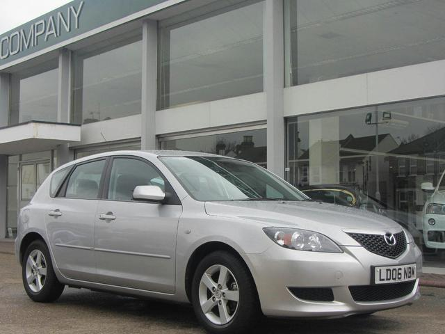 used 2006 mazda mazda3 hatchback silver edition 1 6 ts 5dr activematic petrol for sale in. Black Bedroom Furniture Sets. Home Design Ideas