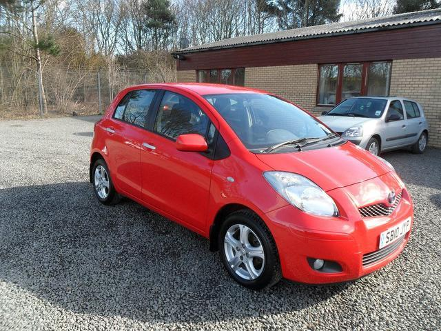 used toyota yaris 2010 manual petrol vvt i tr 5 door red for sale uk autopazar. Black Bedroom Furniture Sets. Home Design Ideas