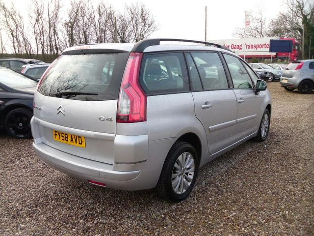 used 2008 citroen c4 estate silver edition grand picasso 16v diesel for sale in nuneaton. Black Bedroom Furniture Sets. Home Design Ideas