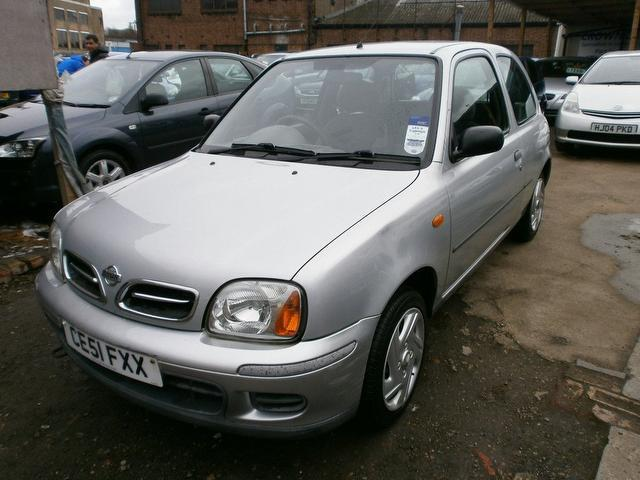 Used Nissan Micra 1.0 Vibe 3 Door  Hatchback Silver 2001 Petrol for Sale in UK