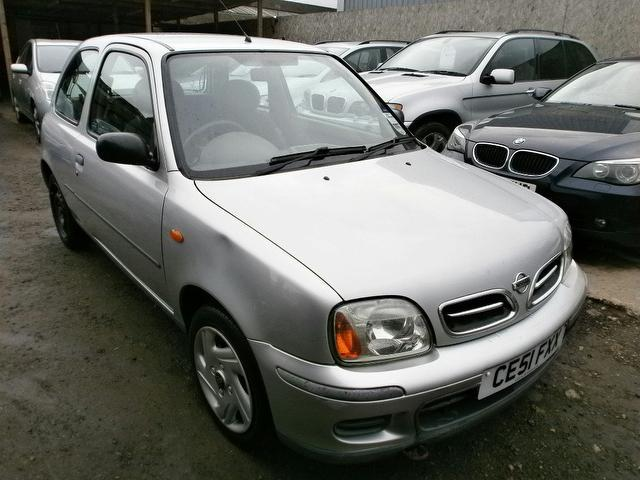 Used Nissan Micra 2001 Silver Hatchback Petrol Manual for Sale