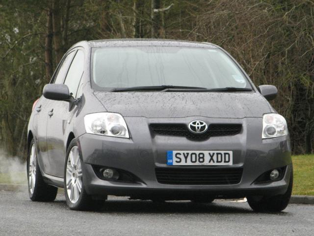 used grey toyota auris 2008 diesel 2 0 d 4d sr 5dr. Black Bedroom Furniture Sets. Home Design Ideas