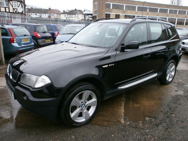 used bmw x3 2005 diesel sport 5dr 4x4 black edition. Black Bedroom Furniture Sets. Home Design Ideas