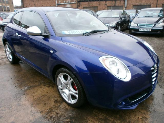 used alfa romeo mito 2010 diesel 1 6 jtdm veloce hatchback turquoise edition for sale in wembley. Black Bedroom Furniture Sets. Home Design Ideas