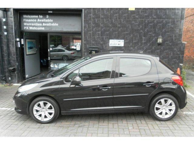 used peugeot 207 2008 diesel 1 6 hdi 90 sport hatchback. Black Bedroom Furniture Sets. Home Design Ideas