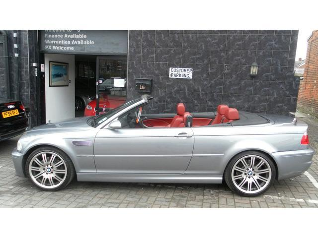 Used Bmw M3 2004 Grey Convertible Petrol Manual for Sale