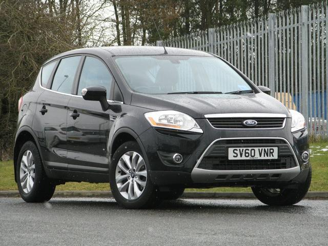 used ford kuga car 2010 black diesel 2 0 tdci 163 titanium. Black Bedroom Furniture Sets. Home Design Ideas