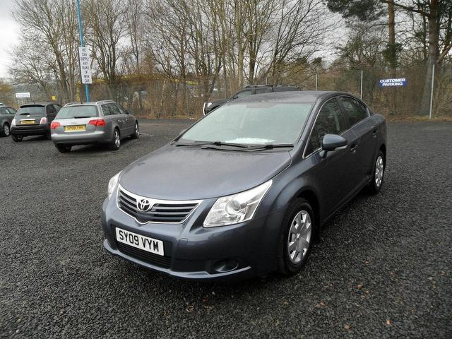 Used Toyota Avensis 2009 Blue Saloon Petrol Manual for Sale