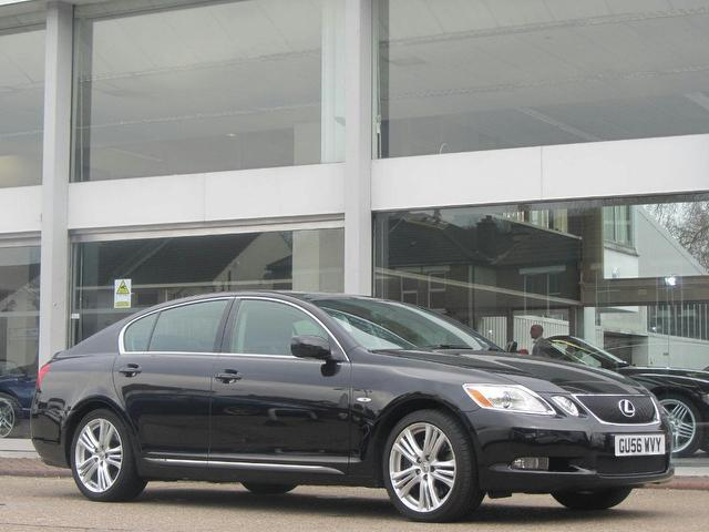 used lexus gs 2006 automatic hybrid 450h 3 5 4 door cvt. Black Bedroom Furniture Sets. Home Design Ideas