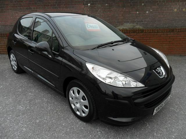 Used Peugeot 207 2007 Manual Petrol 1 4 Urban 5 Door Black