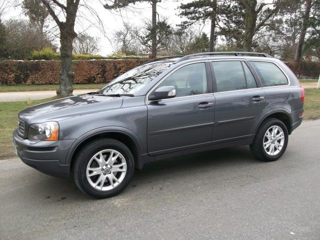 used volvo xc90 2007 diesel 2 4 d5 se 5dr 4x4 grey edition for sale in newmarket uk autopazar. Black Bedroom Furniture Sets. Home Design Ideas