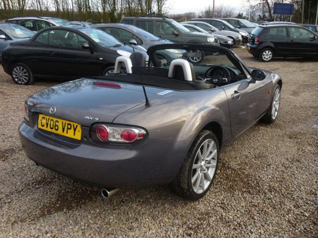 used 2006 mazda mx convertible sport holiday offer petrol for sale in nuneaton uk autopazar. Black Bedroom Furniture Sets. Home Design Ideas