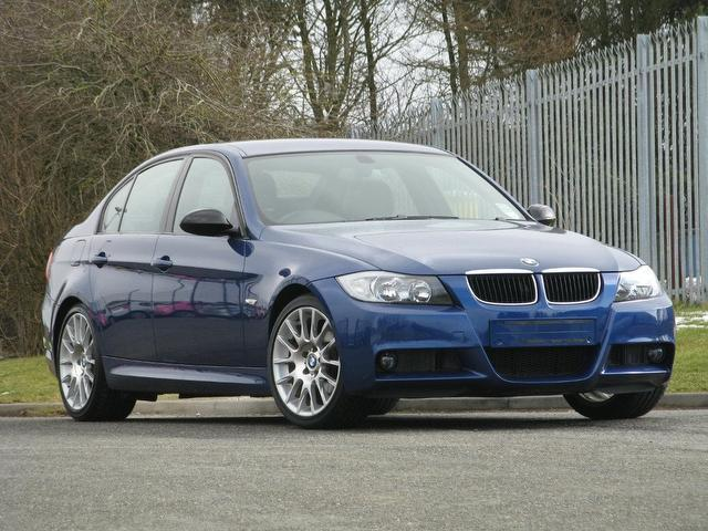 used blue bmw 3 series 2006 petrol 320si 4dr 2 0 saloon. Black Bedroom Furniture Sets. Home Design Ideas